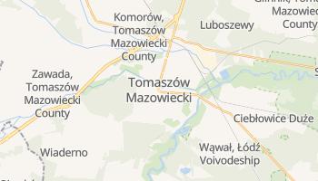 Tomaszow Mazowiecki online map