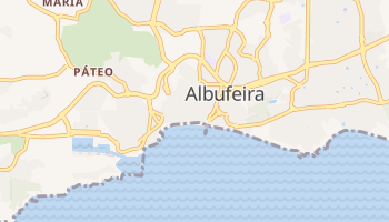 Albufeira online map