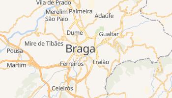Braga online map
