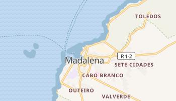 Madalena online map