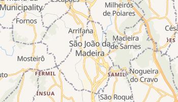 Santo Joao Da Madeira online map