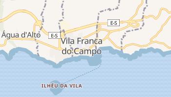 Villa Franca Do Campo online map