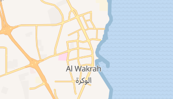 Al Wakra online map