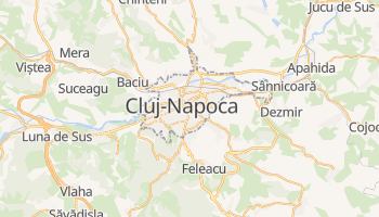 Cluj-Napoca online map