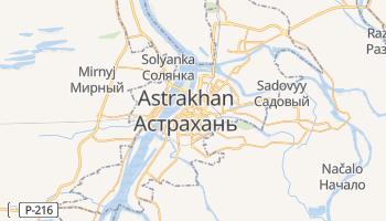 Astrakhan online map