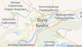 Biysk online map