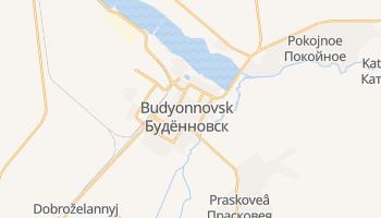 Budennovsk online map