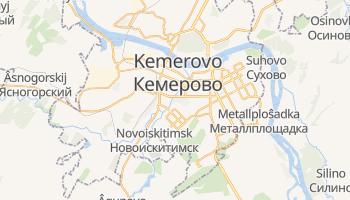 Kemerovo online map