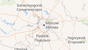Moscow online map