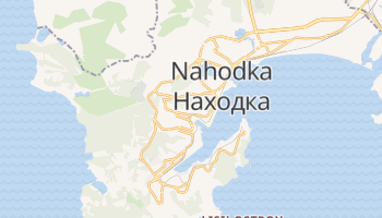 Nakhodka online map