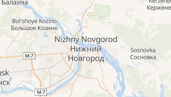 Nizhniy Novgorod online map