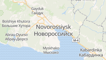 Novorossiisk online map