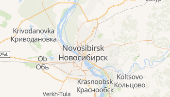 Novosibirsk online map