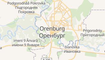 Orenburg online map