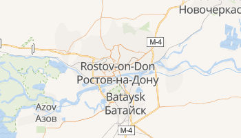 Rostov-on-don online map