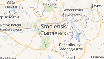 Smolensk online map