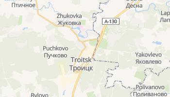 Troitsk online map