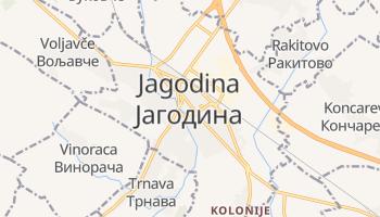 Jagodina online map