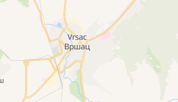 Vrsac online map