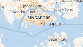 Singapore online map