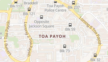 Toa Payoh online map