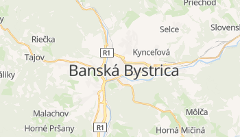 Banska Bystrica online map