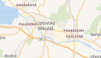 Liptovsky Mikulas online map