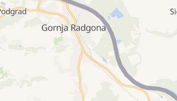 Gornja Radgona online map