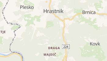 Hrastnik online map