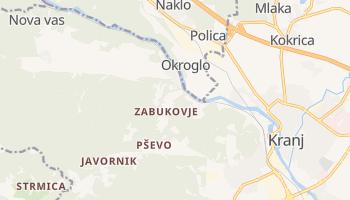 Sentjost online map