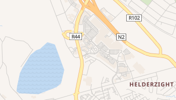 Somerset West online map