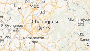 Chongju online map