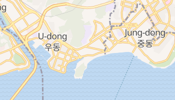 Haeundae online map