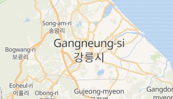 Kangnung online map