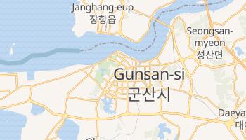 Kunsan online map