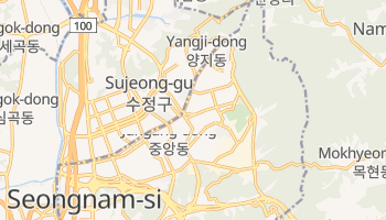 Seongnam online map