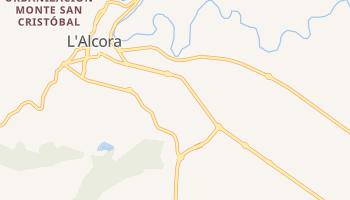 Alcora online map
