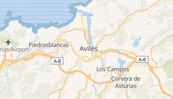 Aviles online map
