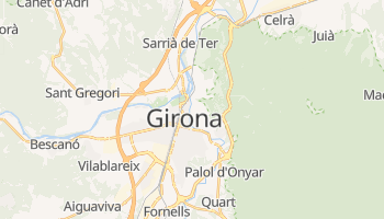 Girona online map
