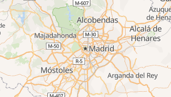 Madrid online map