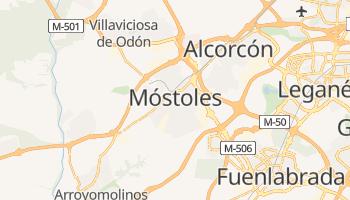 Mostoles online map