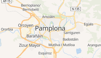 Pamplona online map