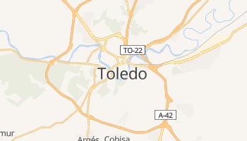 Toledo online map