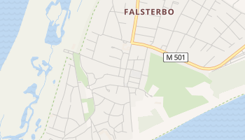 Falsterbo online map