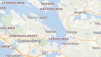 Gustavsberg online map