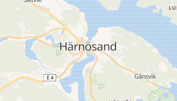Harnosand online map