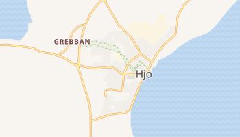 Hjo online map