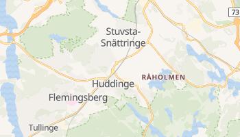 Huddinge online map