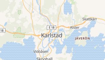 Karlstad online map