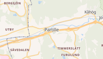 Partille online map